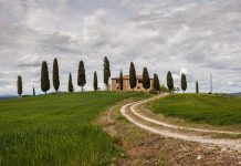 toscana itinerario on the road