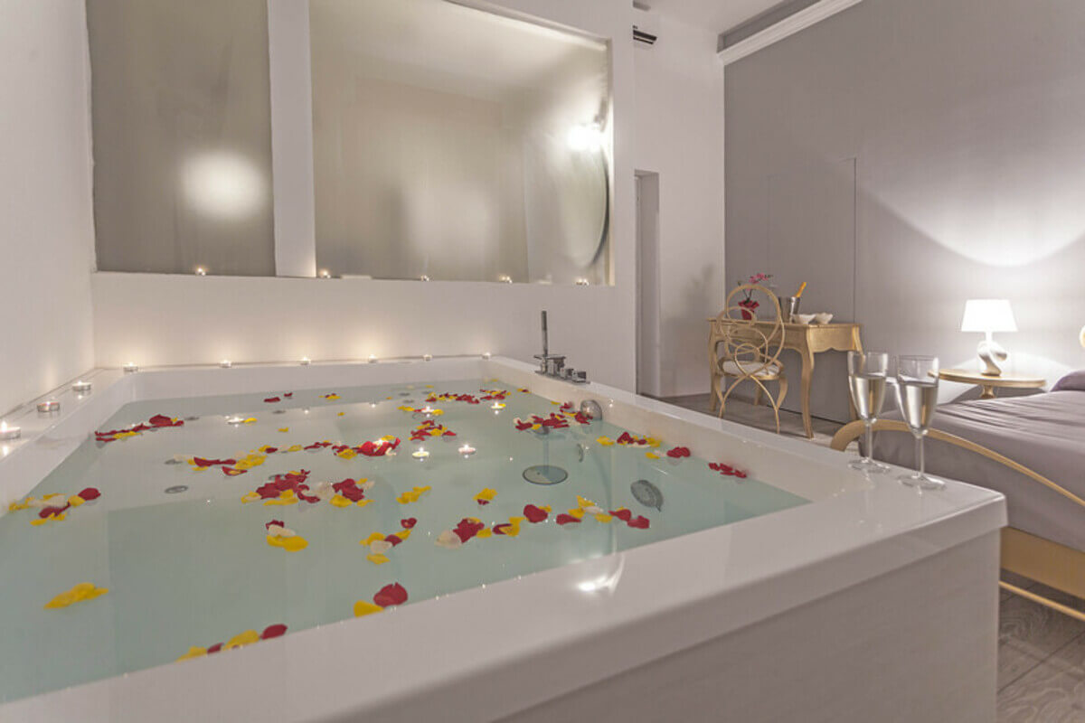 hotel con jacuzzi in camera a roma