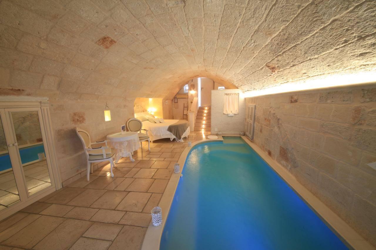 uno tra i migliori hotel con piscina privata in camera